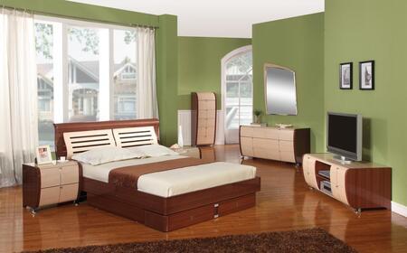 VIG Furniture LIZANS  Wood Night Stand