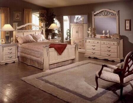 Sandberg 176B Belladonna Palace California King Bedroom Sets