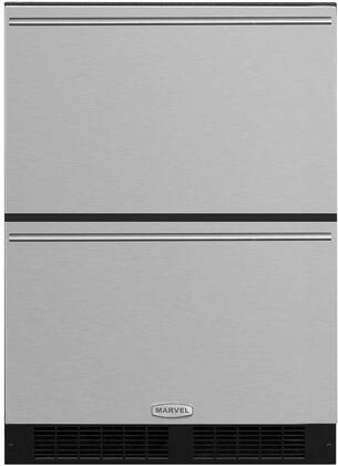 "Marvel ML24RDP3NT 24"" Marvel Refrigerated Drawers with Dynamic Cooling, Technology, Thermal Efficient Cabinet, Multifunction Marvel Intuit, and Close Door Assist System, in"