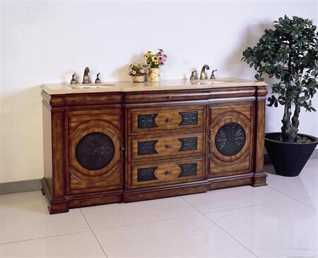 Legion Furniture LF66 Sink Vanity - No Faucet in Multi-Brown