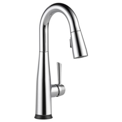 Essa  9913T-DST Delta Essa: Single Handle Pull-Down Bar / Prep Faucet with Touch2O Technology in Chrome