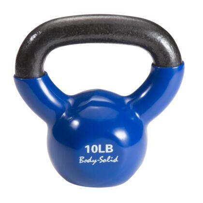 Body Solid KBV Cast Iron Kettlebell with Vinyl Coating