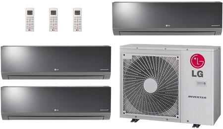 LG 730399 Triple-Zone Mini Split Air Conditioners
