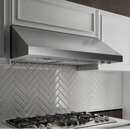 Elica ECV6 Aspire Series Cervinia Under Cabinet Range Hood With 600 CFM Internal Blower, 2 Dishwasher-Safe Professional Stainless Steel Baffle Filters, Metallic Rotating Knobs, 2 Halogen Lamps, 4 Fan Speeds: Stainless Steel