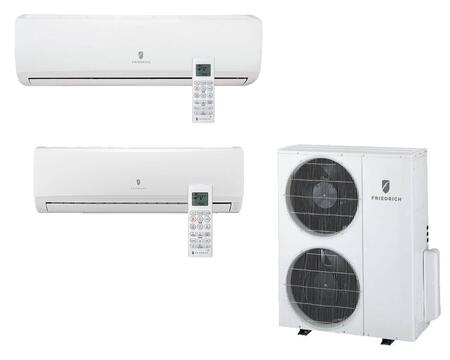 Entire Multi-Zone Ductless Split System with Remote Control