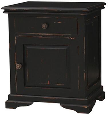 Bramble 23934 Homestead Series Rectangular Wood Night Stand