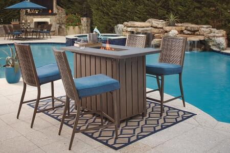 Signature Design by Ashley P556665SET Partanna Patio Sets