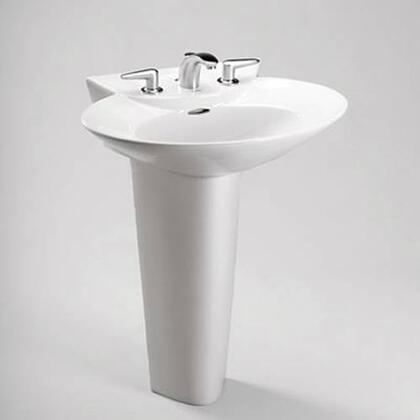 Toto LPT908.8N#51 8in Center Lavatory&Pedestal