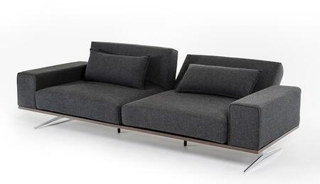 VIG Furniture VGIDSK056 Divano Casa Vermont Series Stationary Fabric Sofa