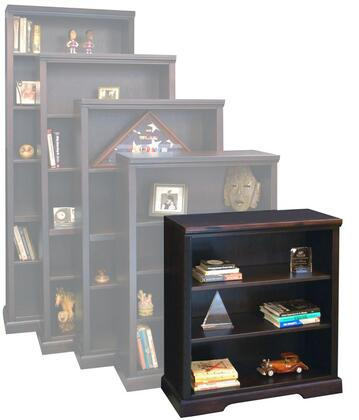 Legends Furniture BW6836DNCBrentwood Series Wood 3 Shelves Bookcase