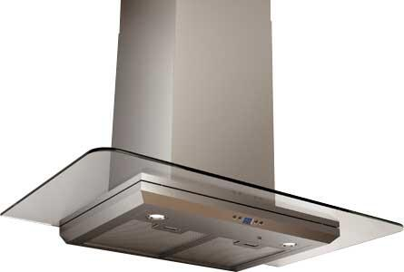 Zephyr ZVOExAG Essentials Europa Series Verona Wall Mount Hood with 715 CFM, LED Illuminated Glass, DCBL Suppression System, ACT Internal Blower and Bloom HD LED Lights, in Stainless Steel
