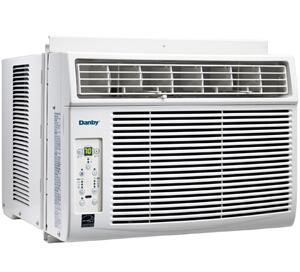 Danby DACx010E Energy Star Compliant Window Air Conditioner with Cooling Power, Electronic Controls with Remote and LED Display in White