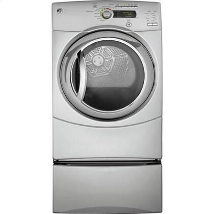 """GE GFDN245GLMS 27"""" Gas  Gas Dryer with  5 Temperature Settings  Appliances Connection"""