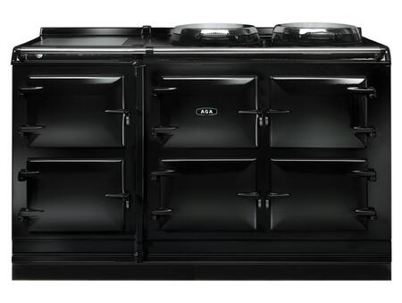 AGA ATC5BLK Total Control Series Slide-in Electric Range with  in Black