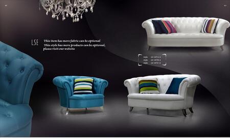 VIG Furniture VGDVLS107CA Modern Leather/ Fabric Living Room Set