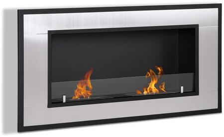 Moda Flame GF101600 Wall Mountable Bioethanol Fireplace
