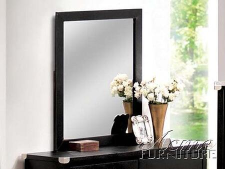 Acme Furniture 12305 Carta Series Rectangular Portrait Dresser Mirror