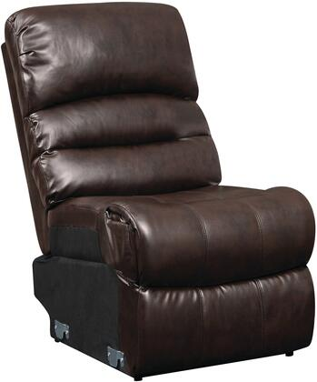 Glory Furniture G685AC Blended Leather  in Cappuccino