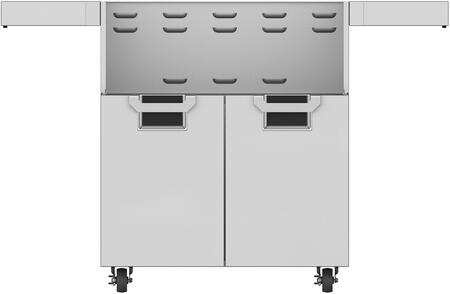 """Hestan ECD30 30"""" Aspire Series Door Cart with 2 Door Configuration, Recessed Marquise Accented Panels with Commercial Grad Handles, Robust Door Hinges with Alignment Adjustability, Commercial Grad Gray Casters with 360 Degrees of Maneuverability"""