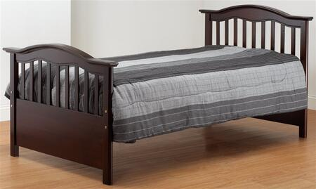 Orbelle TB480X Solid Wood Twin Bed in