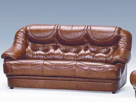 VIG Furniture VGDIMALAGASOFA Malaga Series Stationary Leather Sofa