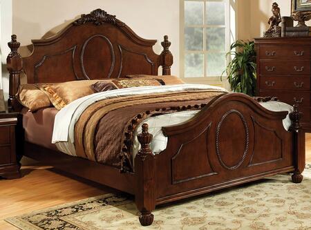 Furniture of America CM7952EKBED Velda II Series  King Size Bed