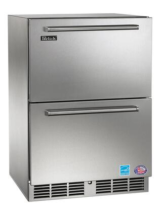 Perlick HP24RS6DNU Signature Series Compact Refrigerator with 5.3 cu. ft. Capacity