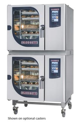 Blodgett BLCT Double Stack Gas Boilerless Combination-Oven/Steamer with Touchscreen Control, Multiple modes, Self cleaning system. Capacity: