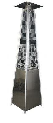 Square Pyramid Stainless Steel Patio Heater