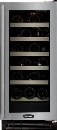 "Marvel 30WCMBSGLL 14.875"" Built In Wine Cooler, in Stainless Steel"