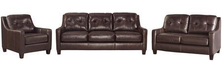 Milo Italia MI2820SLCMAHO Regina Living Room Sets
