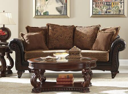 Coaster 505231 Garroway Series Stationary Fabric Sofa