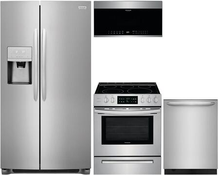 Frigidaire 988288 4 piece Stainless Steel Kitchen Appliances Package