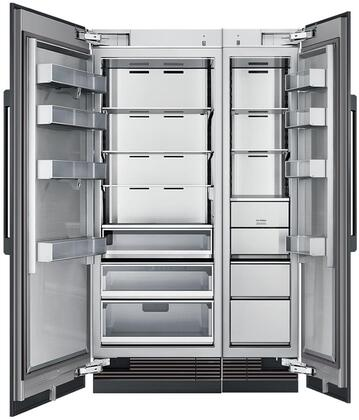 Dacor 865520 Modernist Side-By-Side Refrigerators