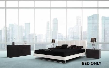 VIG Furniture VGKKB259WHTQ Modrest Heather Series  Queen Size Platform Bed