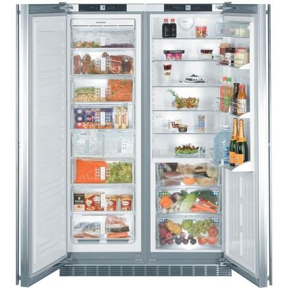 Liebherr SBS24I3 Freestanding Side by Side Refrigerator
