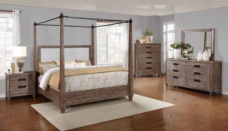 Donny Osmond Home 203541Q5SET Madeleine Queen Bedroom Sets