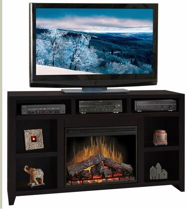 Legends Furniture UL5101MOC Urban Loft Series  Fireplace