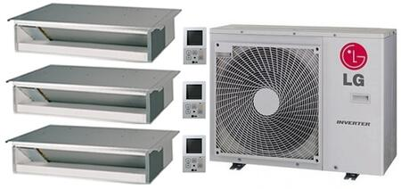LG 704237 Triple-Zone Mini Split Air Conditioners