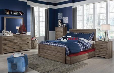 Milo Italia BR2384PCFST6DDPM2DNKIT1 Manning Full Bedroom Set