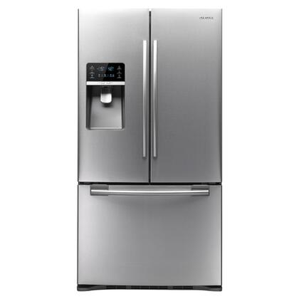 Samsung Appliance RFG296HDRS  French Door Refrigerator with 29 cu. ft. Total Capacity 5 Glass Shelves |Appliances Connection