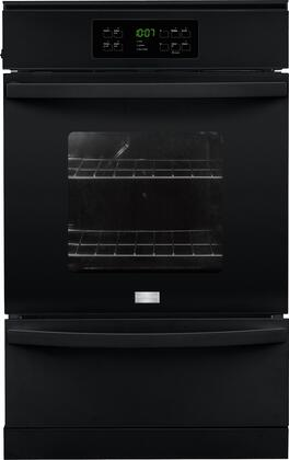 "Frigidaire FFGW2425Q 24"" Single Gas Wall Oven with 3.3 cu. ft. Capacity, Vari-Broil Temperature Control, Dual Radiant Baking and Roasting, Ready-Select Controls and Self-Cleaning option in"