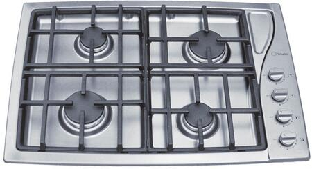 "Scholtes TG304IXGHNA 30"" Gas Sealed Burner Style Cooktop, in Stainless Steel"