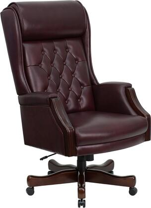 """Flash Furniture KCC696TGGG 27"""" Traditional Office Chair"""