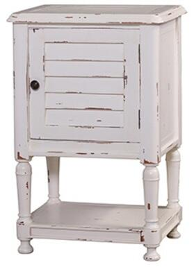 Bramble 25404 Cottage Orleans Series Rectangular Wood Night Stand