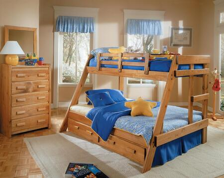 Chelsea Home Furniture 3626501S  Twin over Full Size Bunk Bed