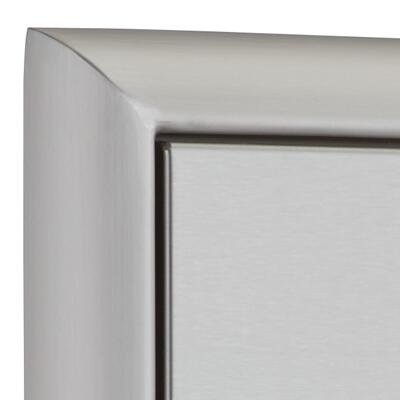 OCI OCI Double Access Doors with Paper Towel Holder, Magnetic Latch and Heavy Duty Hinges: Stainless Steel