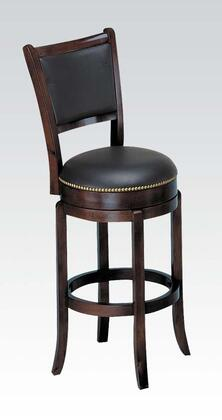 Acme Furniture 07256 Chelsea Series Residential Faux Leather Upholstered Bar Stool