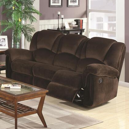 Coaster 602991 Ajay Series Reclining Fabric Sofa
