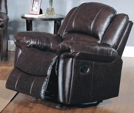 Yuan Tai SU2990CBR Sutton Series Leather Wood Frame  Recliners
